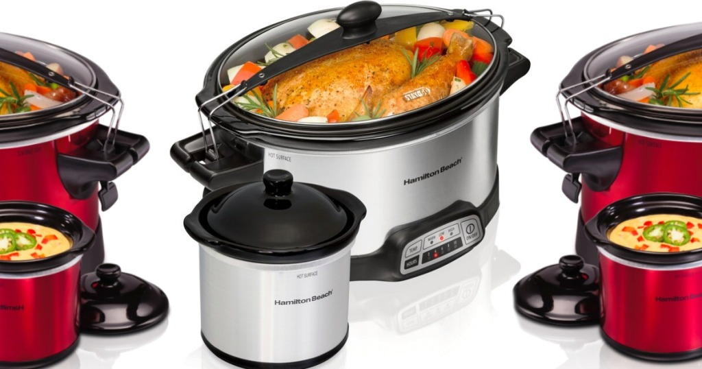 hamilton beach crock pots and dippers