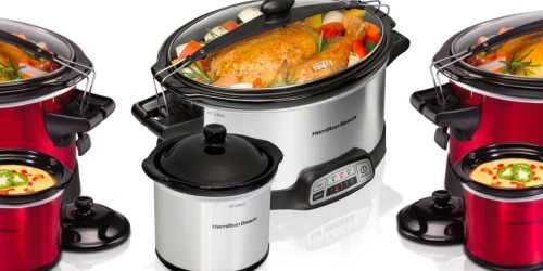 Hamilton Beach 7-Quart Slow Cooker + Party Dipper Only $34.99 on Walmart.com (Regularly $53)