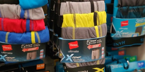 Up to 70% Off Hanes Underwear & More + FREE Shipping