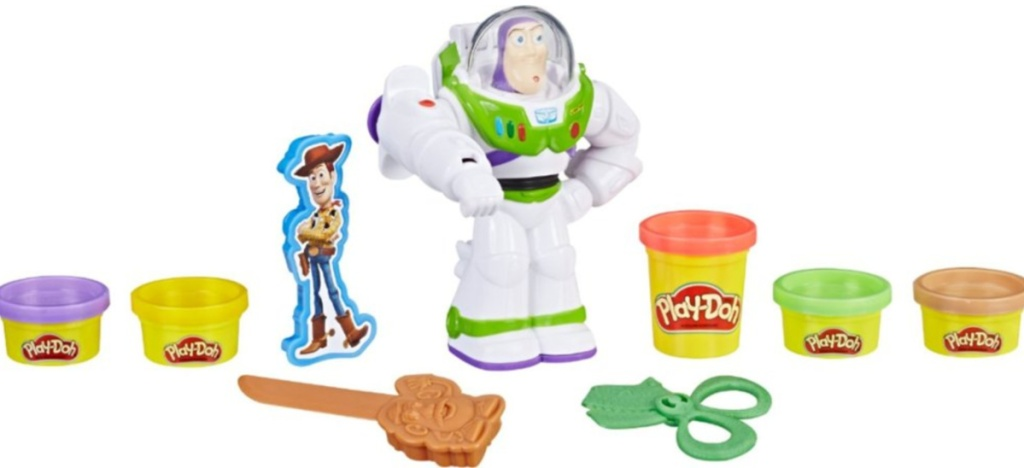 buzz lightyear and playdoh accessories
