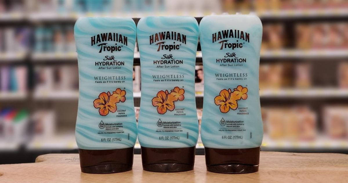 sun lotion bottles