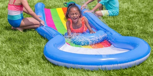 HearthSong Inflatable Water Slide & Board Only $26.99 on Zulily (Regularly $60)