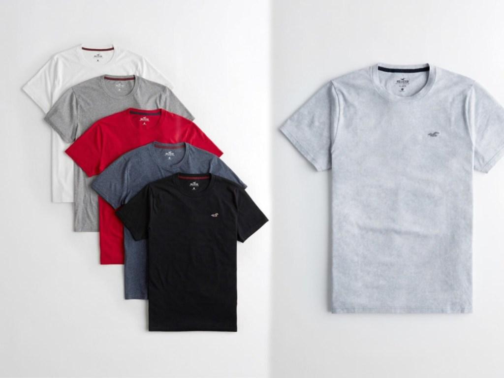 hollister short sleeve shirts