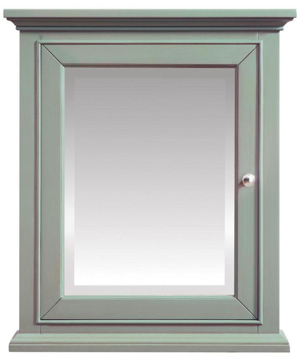 Home Decorators Collection Sea Green Medicine Cabinet