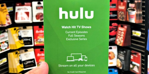 FREE $15 Best Buy Gift Card w/ Purchase of a $100 Hulu Gift Card
