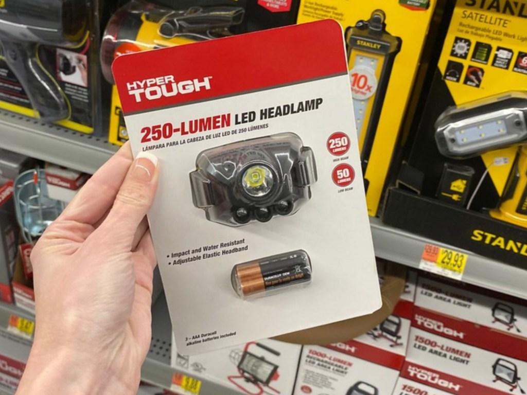 headlamp light in package