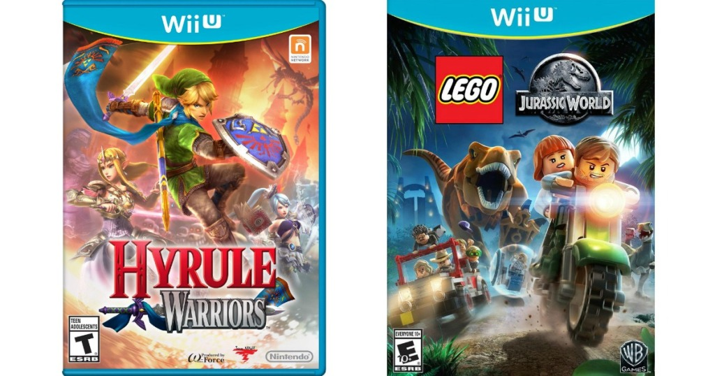 Hyrule Warriors and LEGO Jurassic World Game