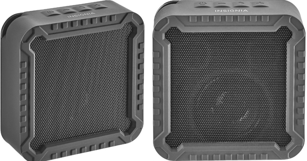 two views of a speaker