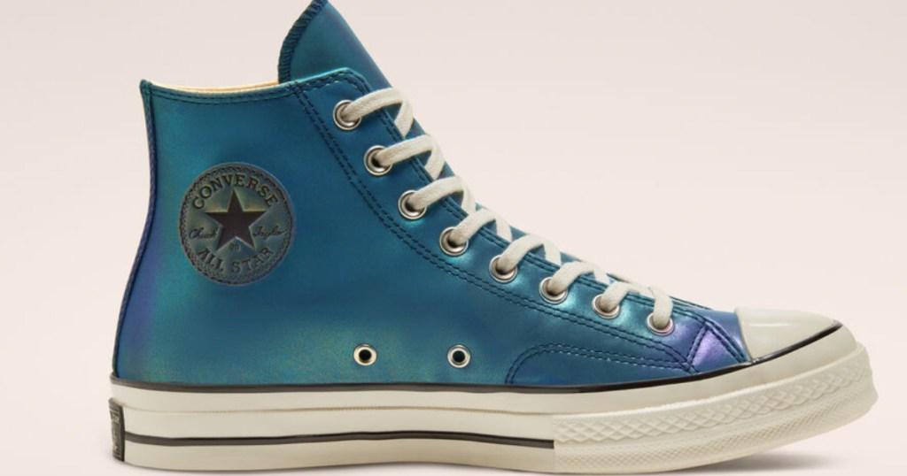 blue Iridescent Chuck 70 High Top
