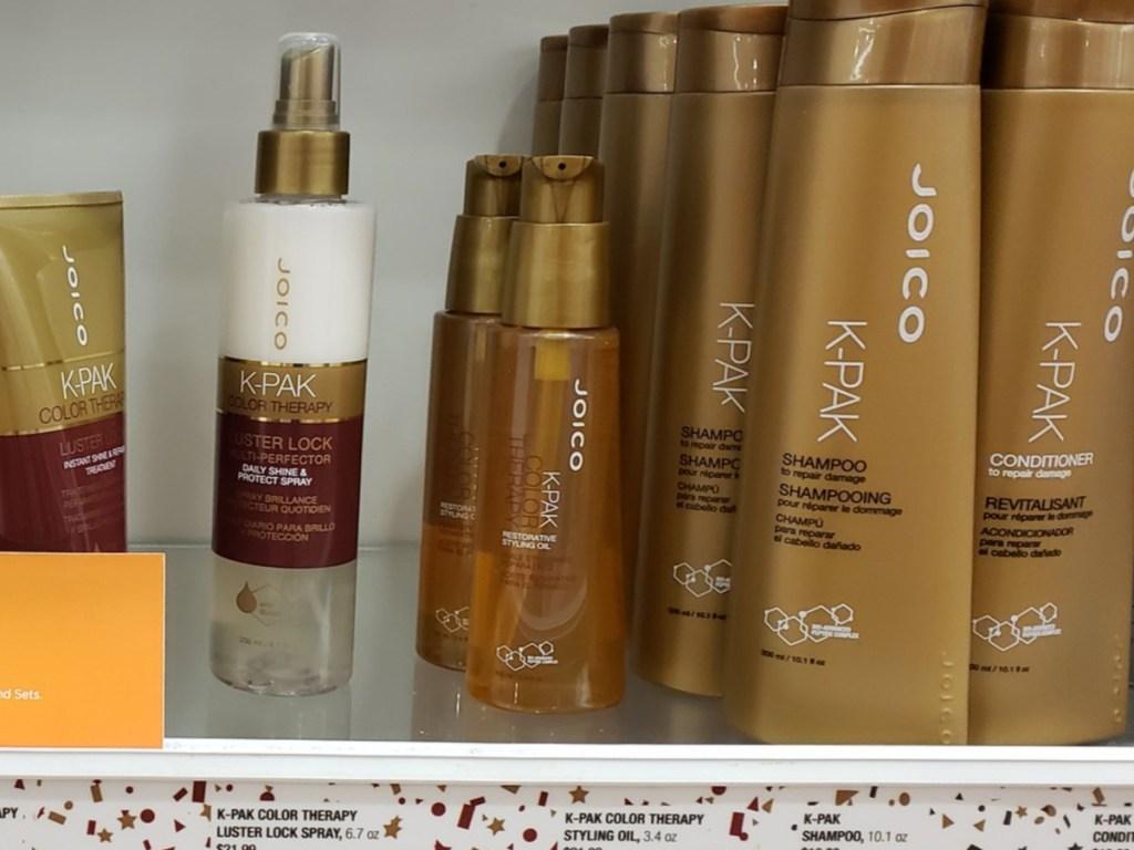 JOICO K-PAK Oil on shelf