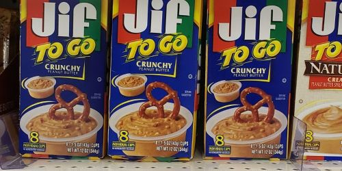 Jif To Go Crunch Peanut Butter Cups 48-Count Just $10.87 Shipped on Amazon