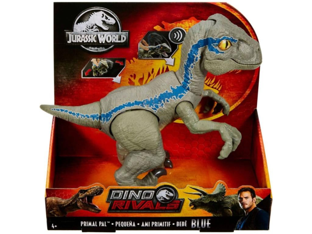 toy dinosaur in package
