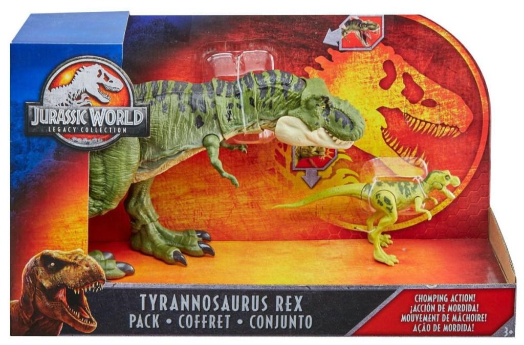 dinosaur toys in box