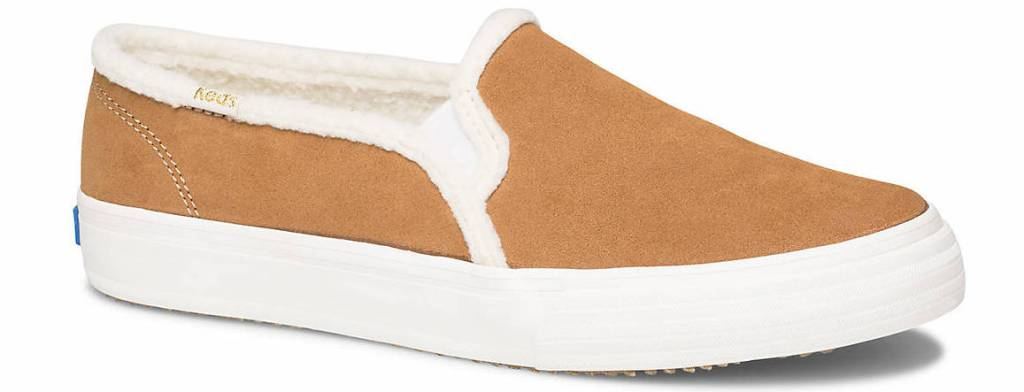 tan and white sneaker