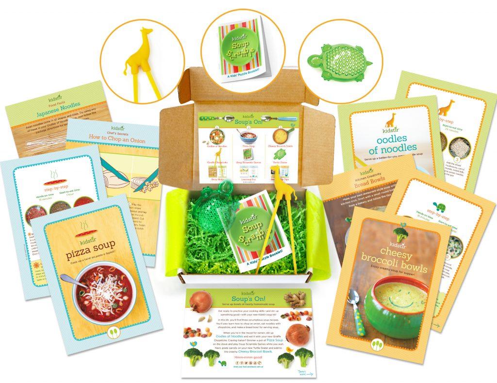 Kidstir Soup kit