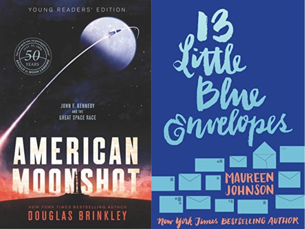 american moonshot and 13 little blue envelopes
