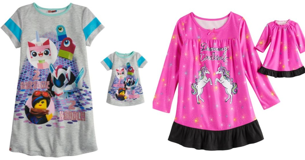 Girls Matching Doll Pajama Sets at Kohl's