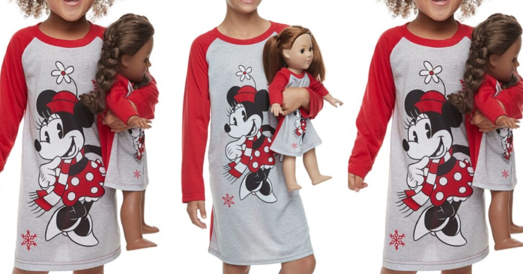 Girls and Toddler Girls Kohl's Disney Pajamas