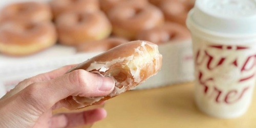 Free Krispy Kreme Dozen Doughnuts w/ Every Dozen Purchased
