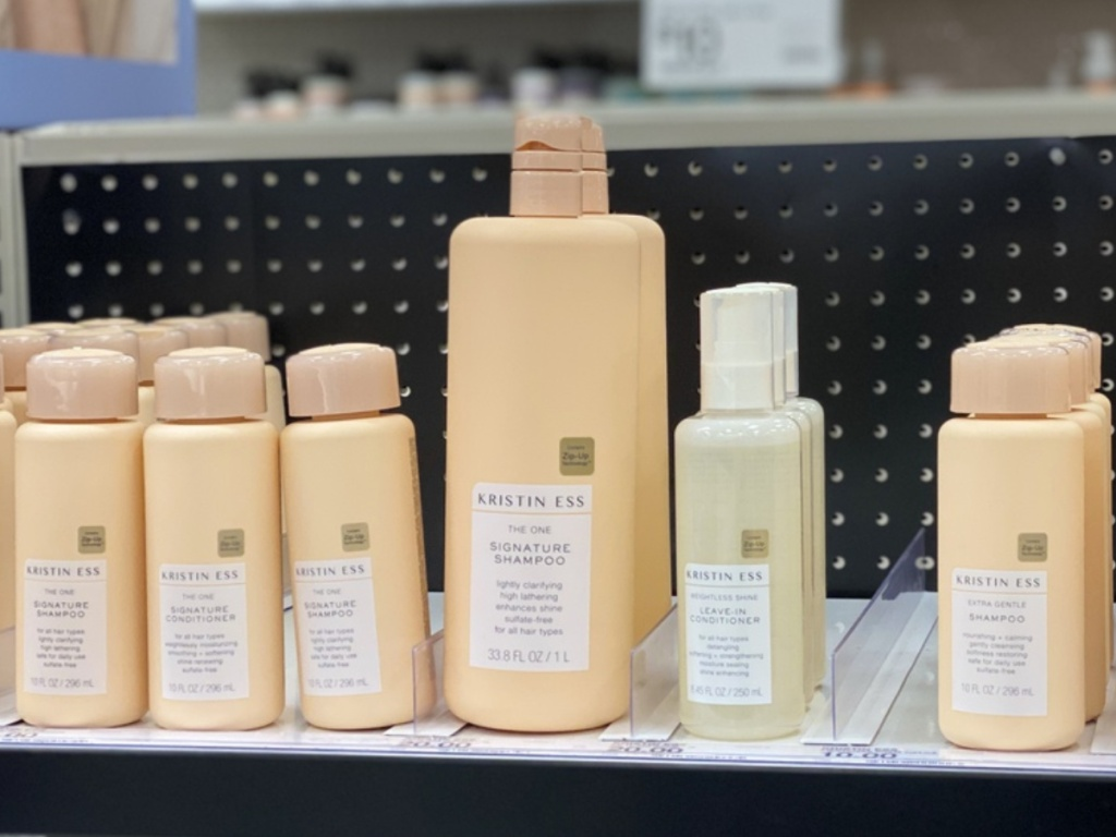 Kristin Ess Products at Target