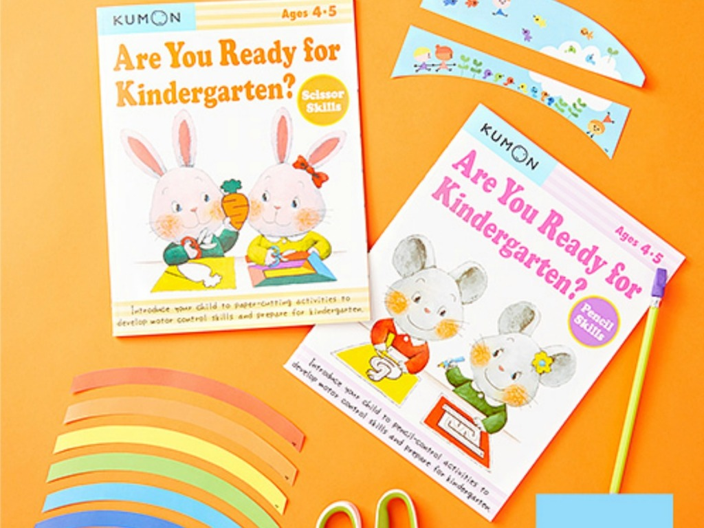 Kumon Kindergarten Books