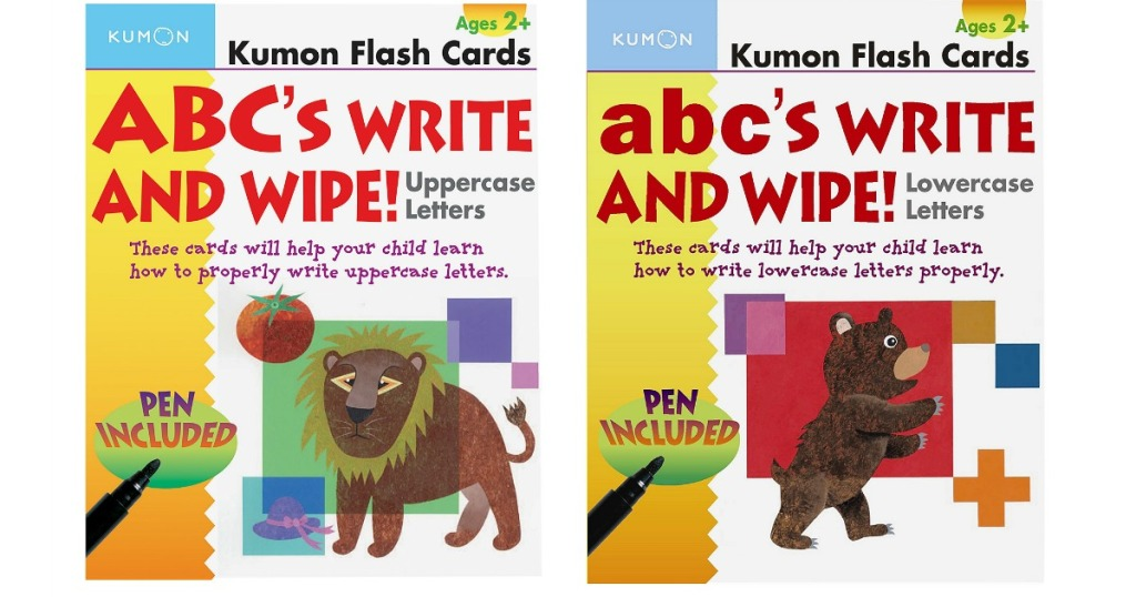 ABC learning flash cards