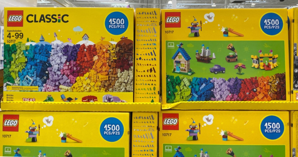 LEGO Classic Bricks 1500-Piece Set