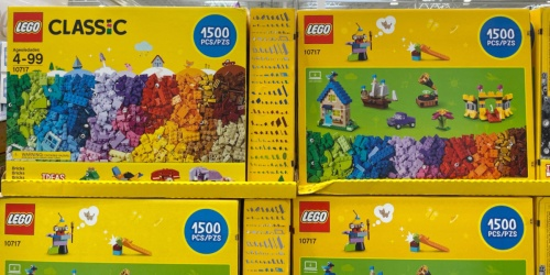 LEGO Classic 1,500-Piece Animals Set Only $34.76 on Walmart
