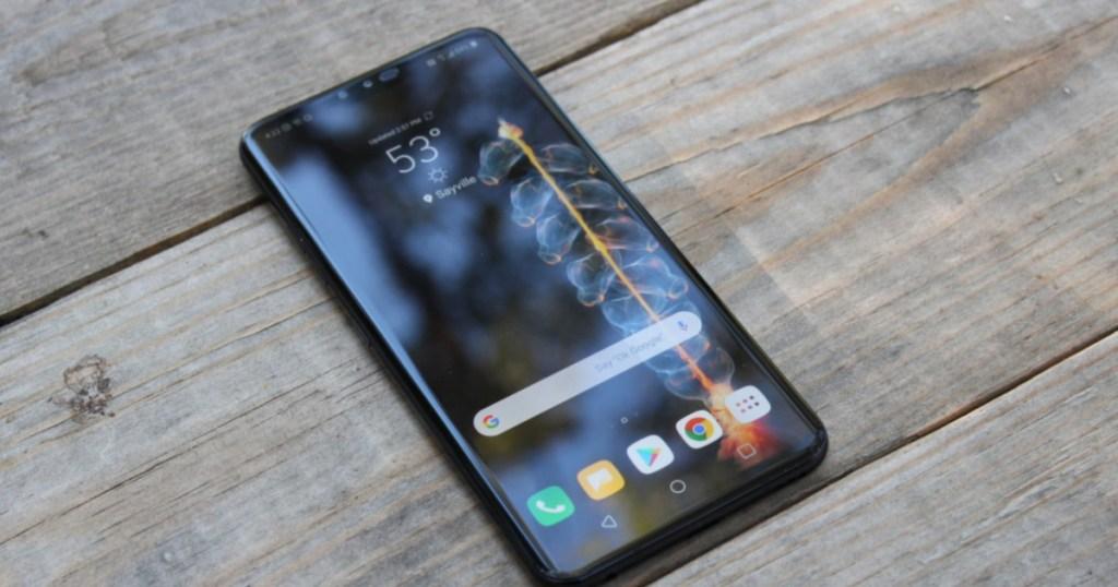 LG V40 ThinQ Smartphone