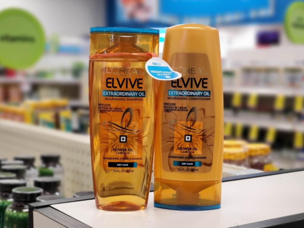 L'Oreal Elvive Shampoo and Conditioner