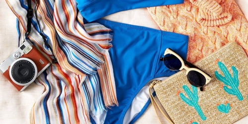 Up to 40% Off Lands' End Swimwear for the Family + Free Shipping