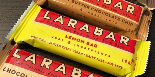 Larabar 16-Pack Only $10.53 Shipped on Amazon | Just 66¢ Per Bar