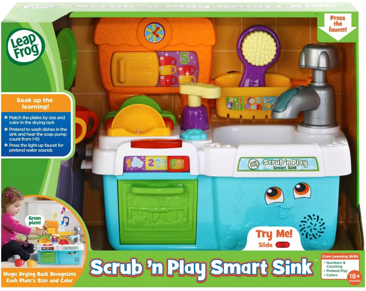 Kid's sink and stove playset in package