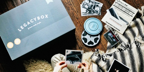 Up to 60% Off Legacybox Gift Vouchers | Give the Gift of Memories for Father's Day
