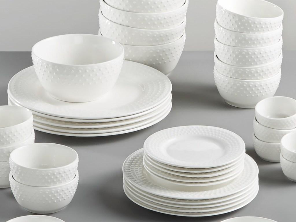 Gibson dinnerware set at macy's
