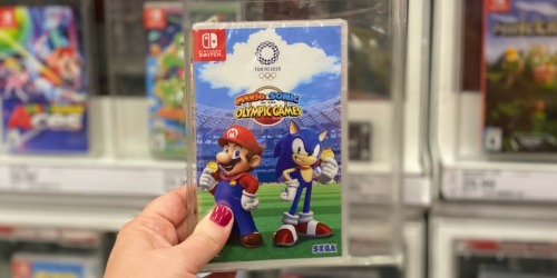 Mario & Sonic Olympic Games Nintendo Switch Game Only $29.99 (Regularly $60)