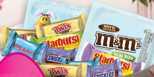 HUGE Easter Candy Bag Only $9.98 | Includes M&M's, Twix, Snickers & More
