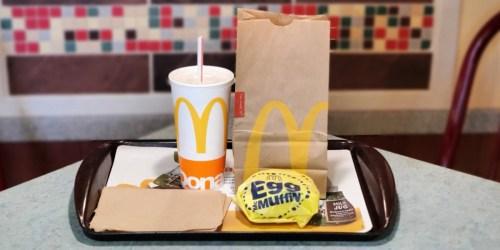 *HOT* FREE McDonald's Breakfast Meal for Teachers & School Staff