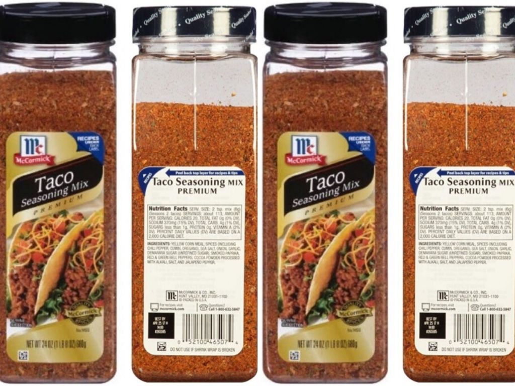 Huge Mccormick Taco Seasoning Just 4 46 Shipped On Amazon Hip2save