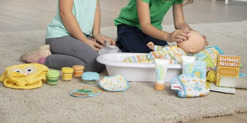 Melissa & Doug Deluxe Baby Care Set Only $50.99 Shipped (Regularly $100)