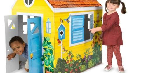 Melissa & Doug Indoor Playhouse Only $32 Shipped (Regularly $50)