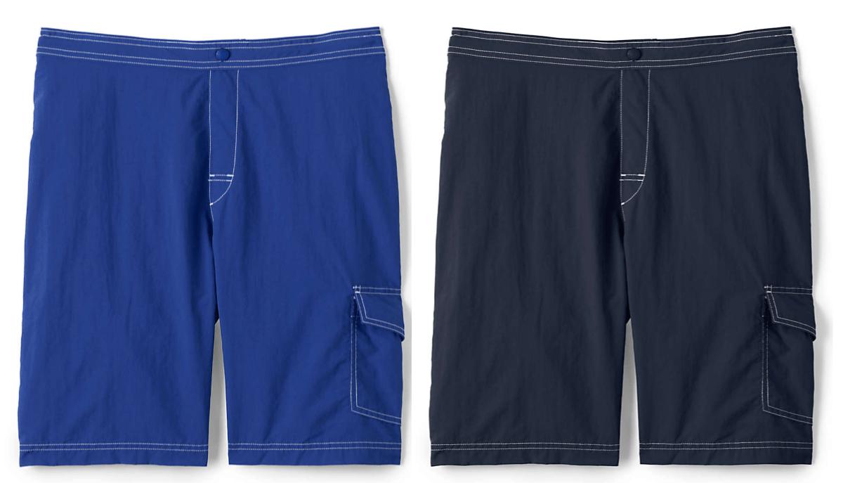 blue mens swimming trunks