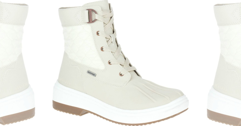 Merrell White Women's Lace up Boots