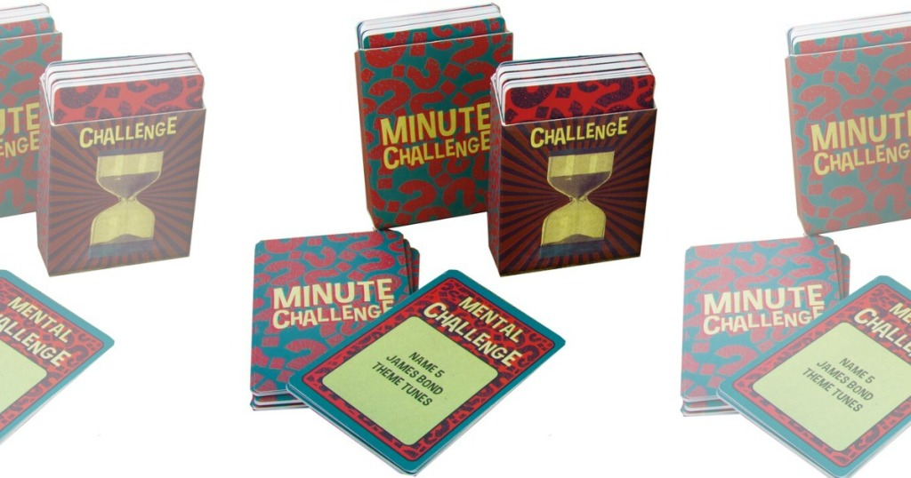 Minute Challenge Game pieces