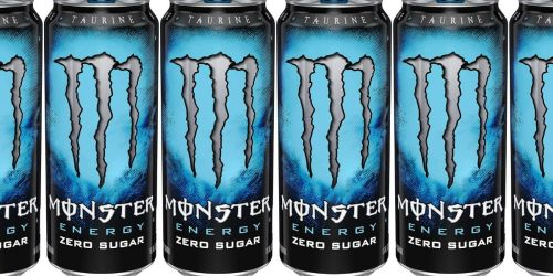 Monster Zero Sugar Energy Drink 24-Pack $25.64 Shipped on Amazon