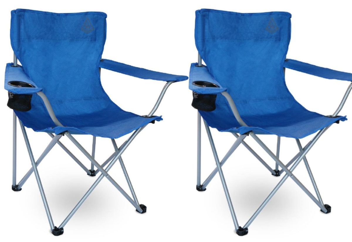 blue foldable outdoor chairs