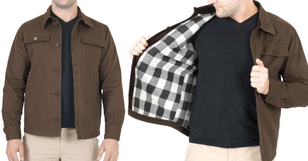 Mountain Isle Men's Workwear jacket shirt