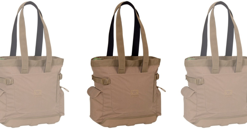 tan mountainsmith tote bag cooler backpack