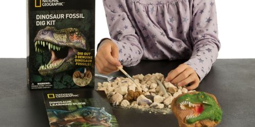 National Geographic Dinosaur Fossil Dig Kit Just $5.99 on Amazon (Regularly $10)