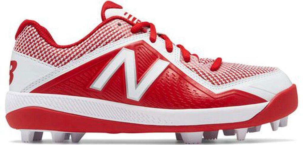red and white cleat